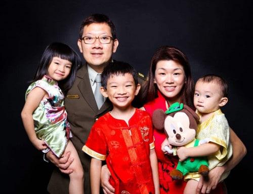 Chinese New Year Family Photoshoot Singapore