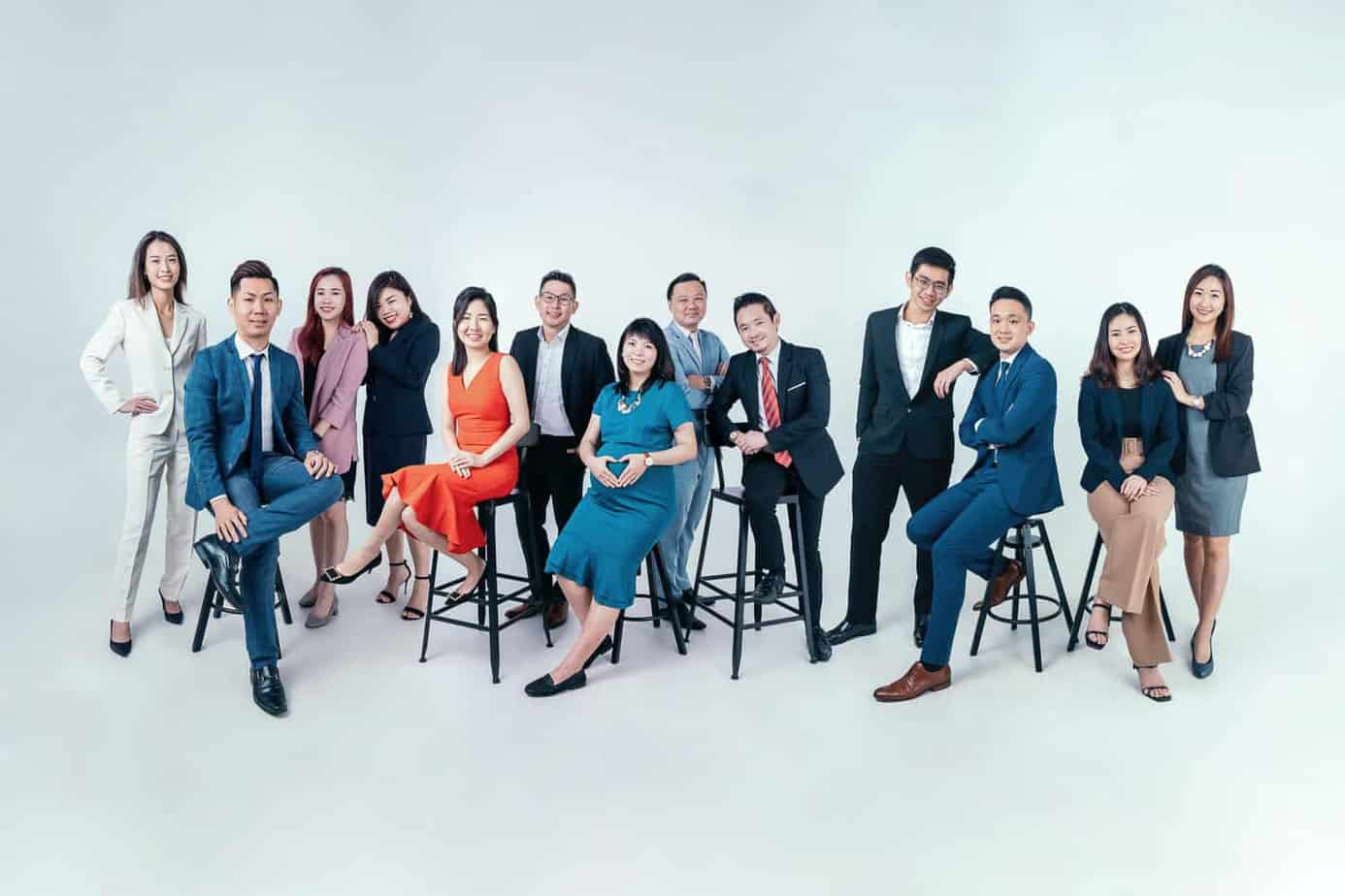 Corporate Group Photoshoot Singapore